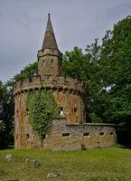 Festung unterhalb der Burg Hohenzollern