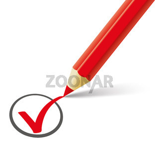 Red Pen Red Tick