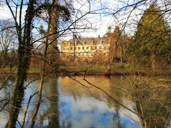 Bueckeburg Castle. Palace in Lower Saxony, Germany.