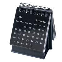 December 2020 - spiral desktop calendar