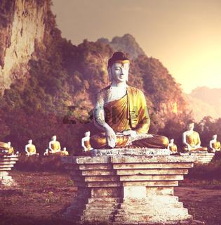Buddhas garden