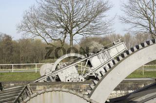Dortmund-Ems-Kanal Datteln - Alte Fahrt, NRW, Deutschland