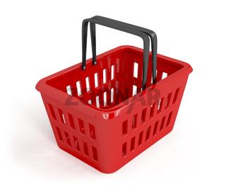 Empty shopping basket