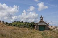Kleine Kapelle an der Cote de Granit Rose