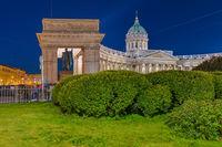 Kazan Cathedral - Saint-Petersburg Russia