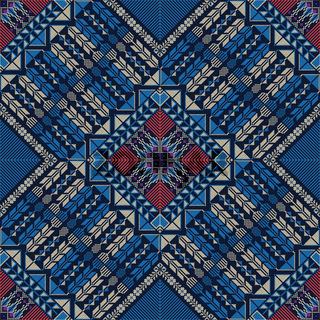 Palestinian embroidery pattern 312