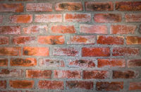 Red brick wall. Nice vintage textured background.