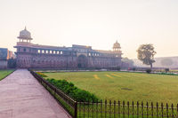Agra Fort, view on the Jahangir Palace, no people