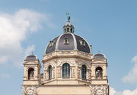 Top of Natural History Museum in Vienna