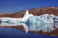 Eisige Stille in Ostgrönland