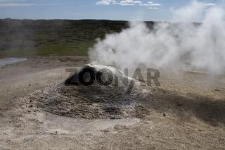 Fumerole auf Island