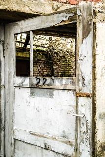 mysteriöse Tür
