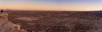 Sunset at Moon Valley Valle de la luna near San Pedro de Atacama in Chile.