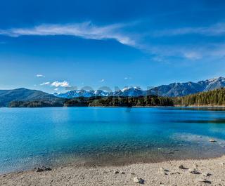 Eibsee lake. Bavaria