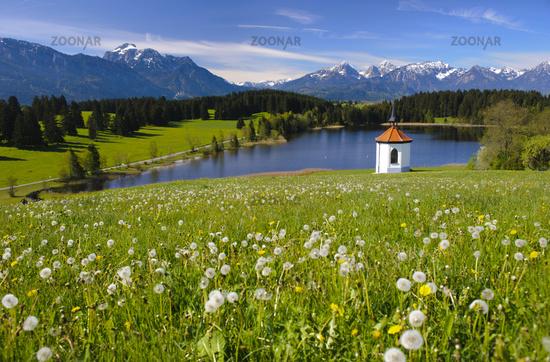 Alpen-Panorama in Bayern