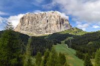 Sassolungo. Dolomites. Valgardena. Italy