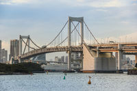 Rainbow bridge at Odaiba