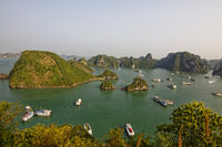 Ha Long Baybei Hanoi in Vietnam