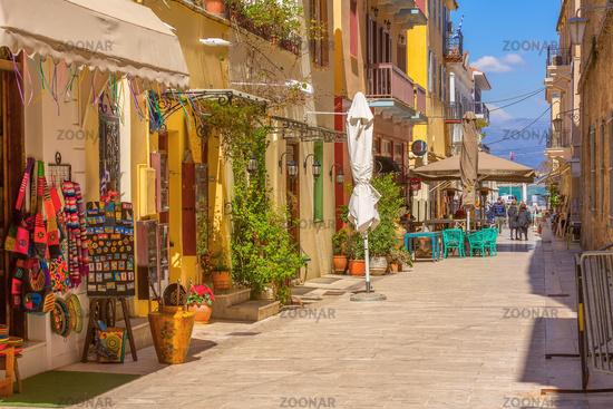 Nafplio, Greece street view