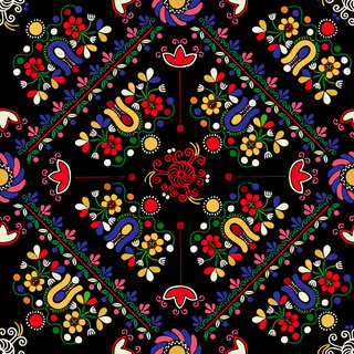 Hungarian embroidery pattern 28