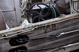 Fischerboot Detail