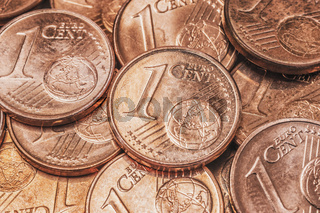 1-Euro-Cent Münzen| 1 Euro Cent coins