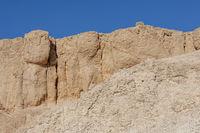 Felswände im Tal der Könige