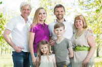 Multigeneration family portrait