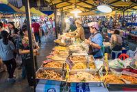 Der Krabi Town Nachtmarkt