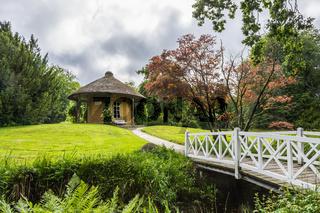 Freundschaftstempel im Schlosspark Lütetsburg, Ostfriesland, Deutschland