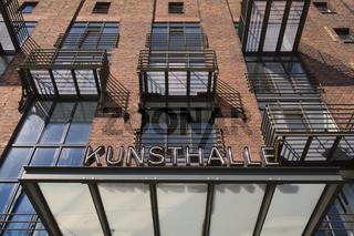 Münster - Kunsthalle, Umnutzung eines ehemaligen Hafenspeichers, Deutschland