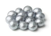 Silver chocolate balls