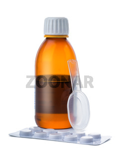 Syrup and pills