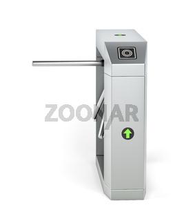 Automatic turnstile