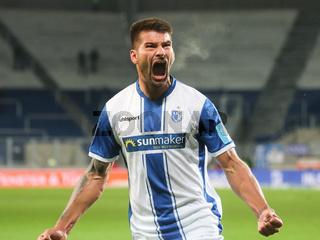 deutscher Fussballer Kai Brünker  1.FC Magdeburg DFB 3.Liga Saison 2020-21