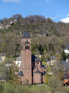 Gerolstein - Erlöserkirche mit Munterley