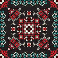 Romanian traditional pattern 212