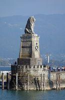 Bayrischer Löwe am Hafen von Lindau