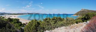 'Spiaggia di Porto Giunco' und 'Stagno di Notteri' - Sardinien