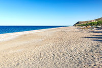 The beach Agios Merkourios Mourteri in Evia island, Greece