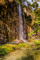 Streams of waterfall