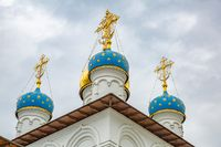 Temple complex, Pavlovskaya Sloboda, Russia