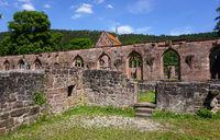 Kloster Hirsau, Mauern der Ruine und Marienkapelle
