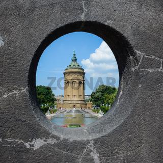 Wasserturm Mannheim - Landmark