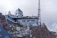Zugspitze Tiroler Seite in Österreich