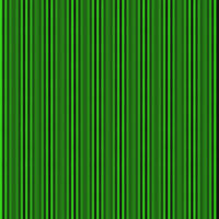 Zigzag green and black