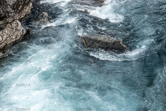 Der Fluss Rauma im Romsdal, Norwegen
