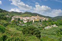 Rio nell`Elba,Insel Elba,Toskana,Mittelmeer,Italien
