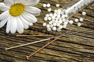 Alternative Naturmedizin mit Akupunktur