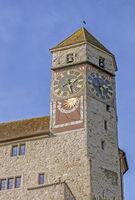 Turm, Schloss Rapperswil, Schweiz